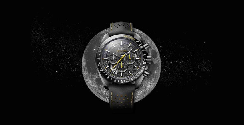 """欧米茄发布超霸系列""""月之暗面""""阿波罗8号腕表"""