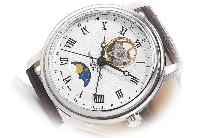 负担得起的奢华——康斯登 百年典雅月相腕表