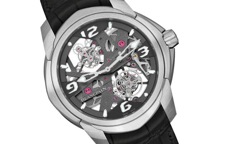 挑战引力的双重奏——宝珀BLANCPAIN L-evolution卡罗素陀飞轮腕表