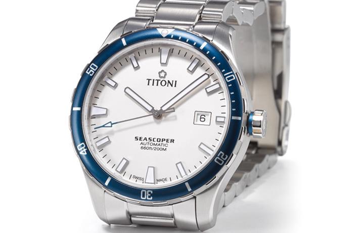 梅花 TITONNI Seacoper海洋探索系列