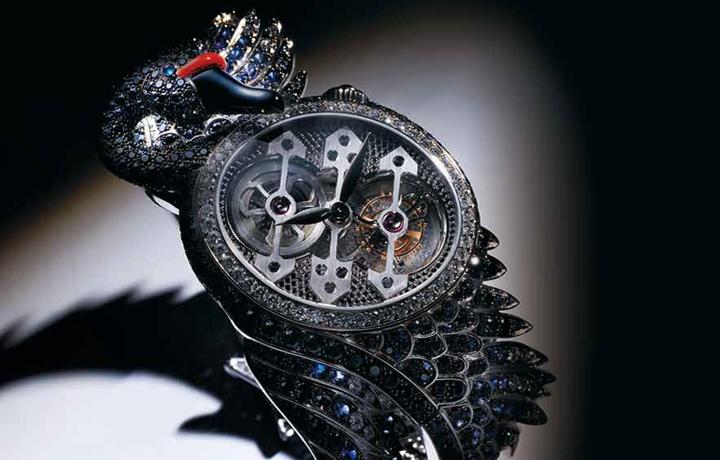 绝美——非传统形体钟表艺术