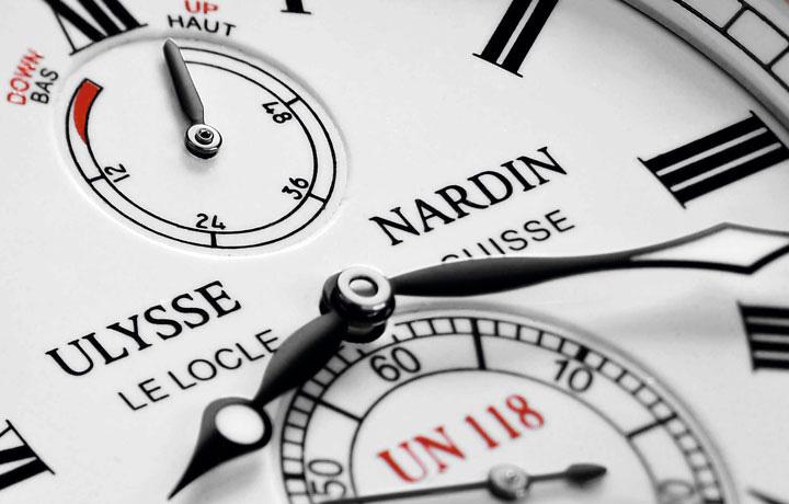 配上珐琅更具质感——雅典ULYSSE NARDIN 独创航海天文台腕表