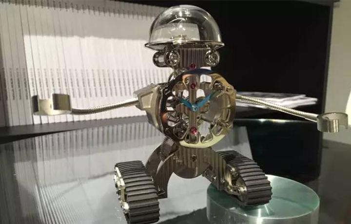 MB&F 小机器人的原力觉醒