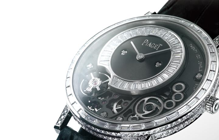 华丽与超薄的极致——伯爵PIAGET Altiplano 900P手上链镶钻腕表