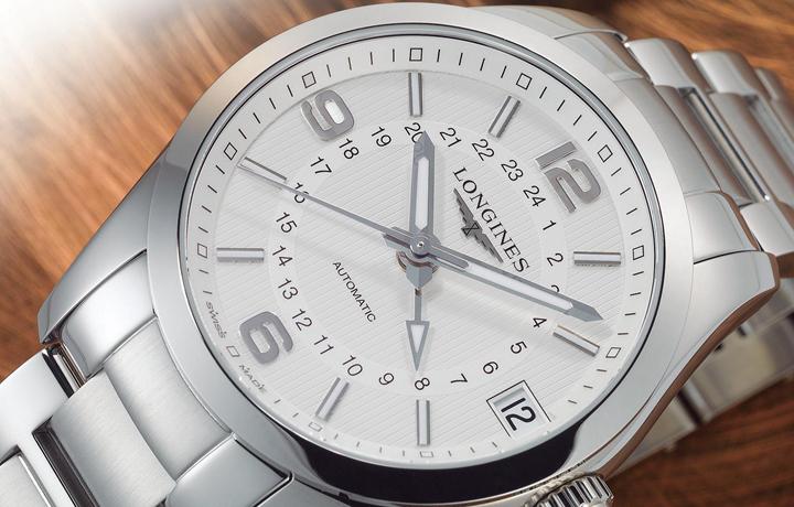 延续品牌制表态度——浪琴LONGINES 康铂系列两地时间腕表