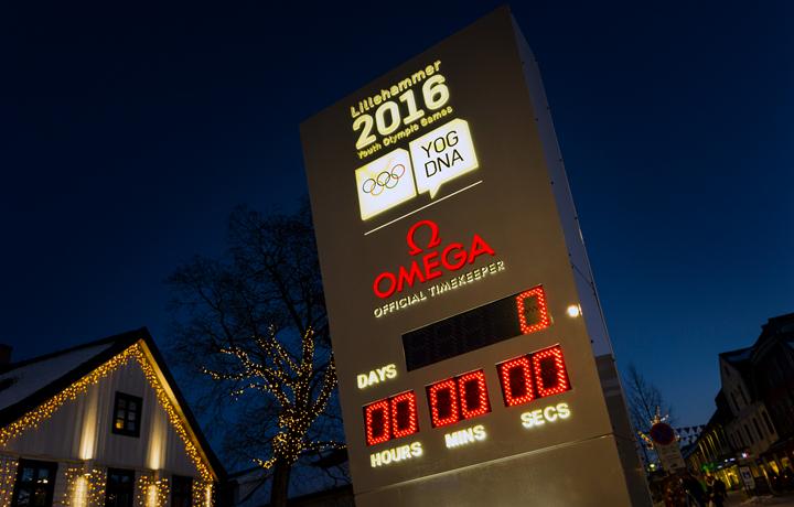 欧米茄荣耀起任冬季青年奥运会正式计时