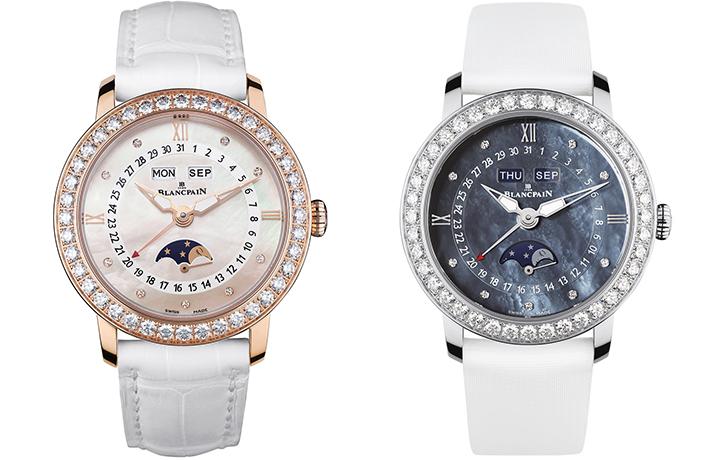 Blancpain宝珀女装月相腕表 全历女装月相3663