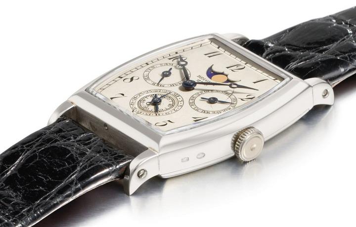 回顾全世界最早的万年历手表