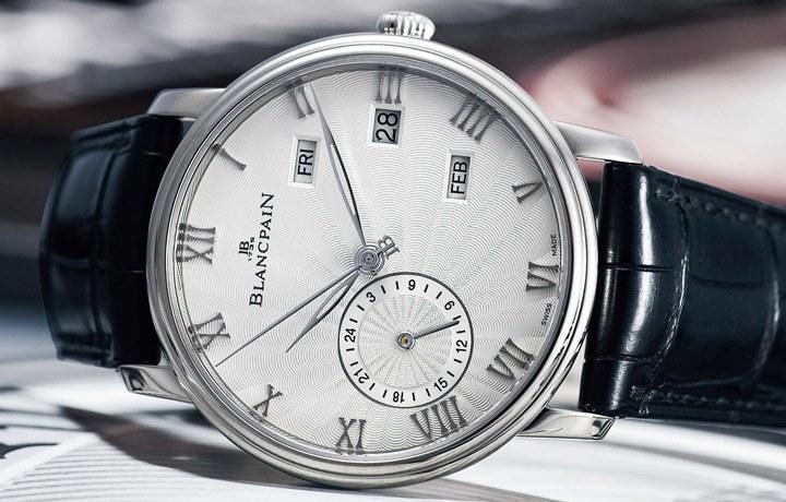 宝珀BLANCPAIN Villeret Annual Calendar GMT 实用功能首度结合
