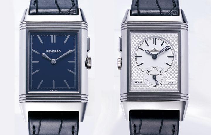 翻转的两地时间腕表——积家JAEGER-LECOULTRE  Grande Reverso Ultra Thin Duoface Blue