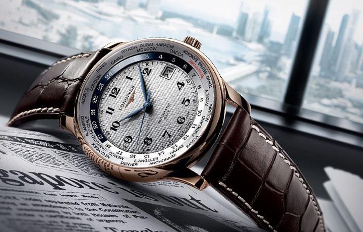 全球时区轻松调校——浪琴LONGINES Master Collection世界时腕表