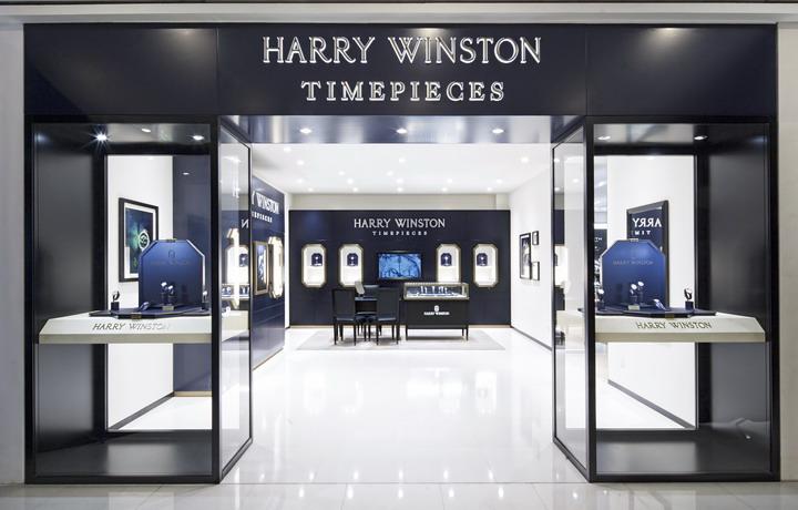 亨得利集团新宇三宝杭州大厦海瑞温斯顿专卖店隆重启幕