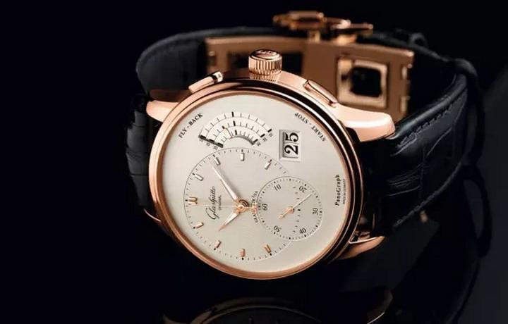 格拉苏蒂原创偏心飞返计时腕表