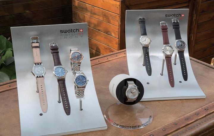 SWATCH发布全新精简51金属系列机械腕表