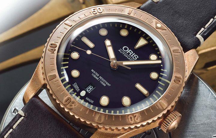 豪利时 ORIS Carl Brashear限量腕表 以青铜向无畏致意