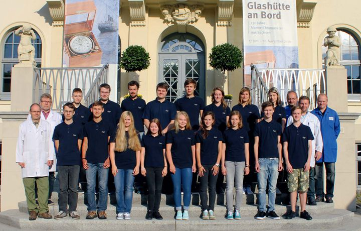 格拉苏蒂原创Glashütte Original 未来表匠及工具匠的开学日