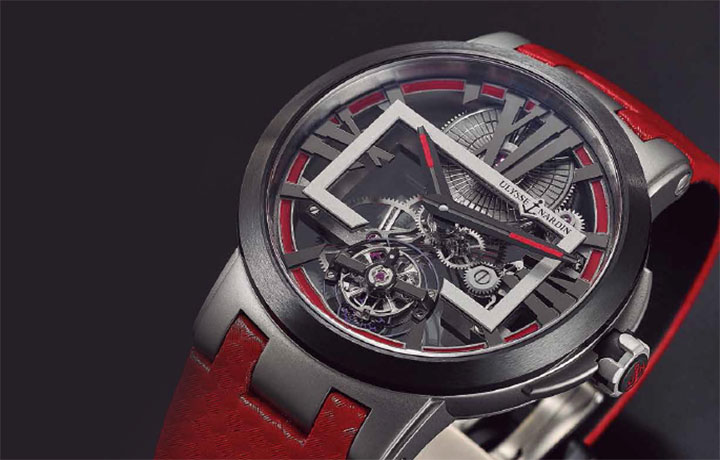 ULYSSE NARDIN Executive Skeletong Tourbillon高科技催生的视觉系结构