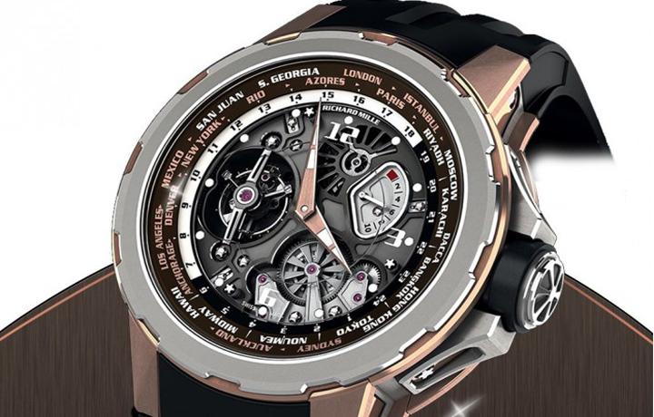 时尚环球达人 RM 58-01国际标准时陀飞轮腕表品鉴