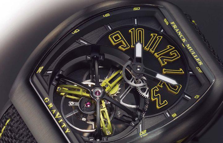 法穆兰 FRANCK MULLER Vanguard Gravity 品牌魅力的极大化
