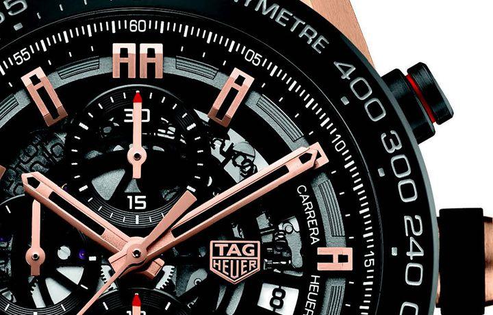 泰格豪雅 Manufacture Movement TAG Heuer 01计时秒表