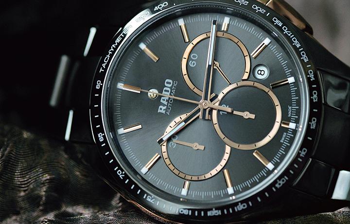 瑞士雷达HyperChrome 皓星系列测速计时自动腕表