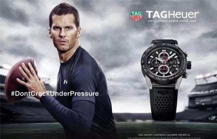 TAGHeuer泰格豪雅:亲眼见证汤姆·布拉迪封神,是超级碗的荣幸。