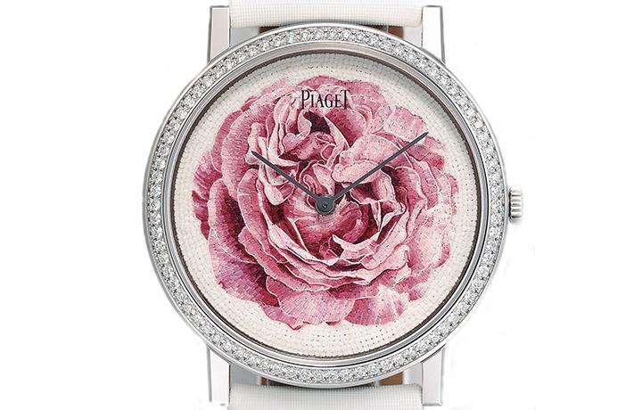 伯爵PIAGET   Altiplano Metier d'Art Rose Mosaique