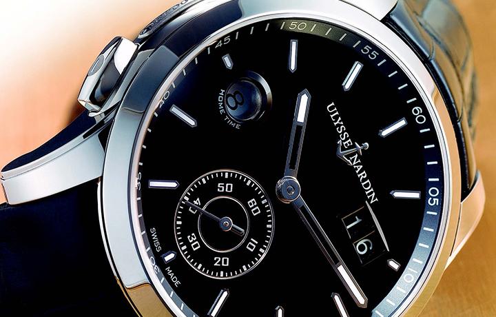 雅典 Dual Time Manufacture 自制快调GMT