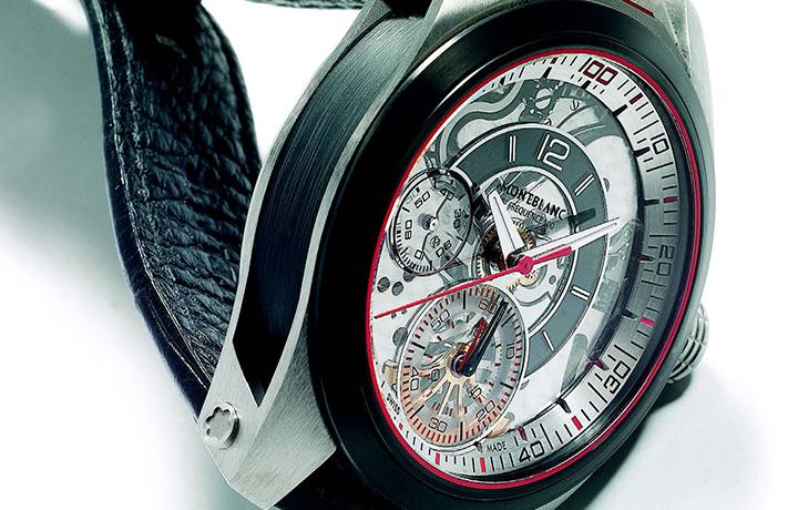 万宝龙 Timewalker Chronograph 100 两套擒纵组成的完美宇宙