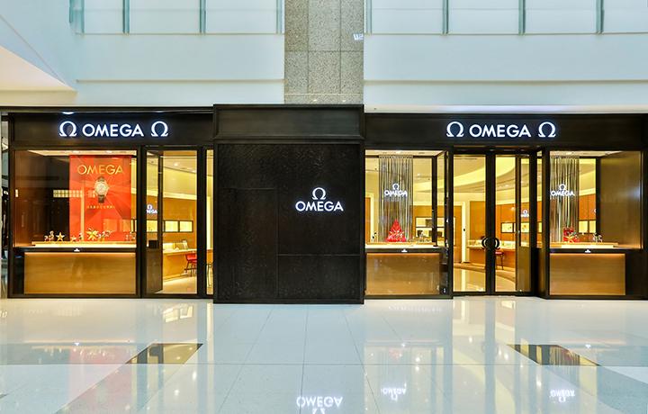 欧米茄旗舰店进驻上海港汇恒隆广场