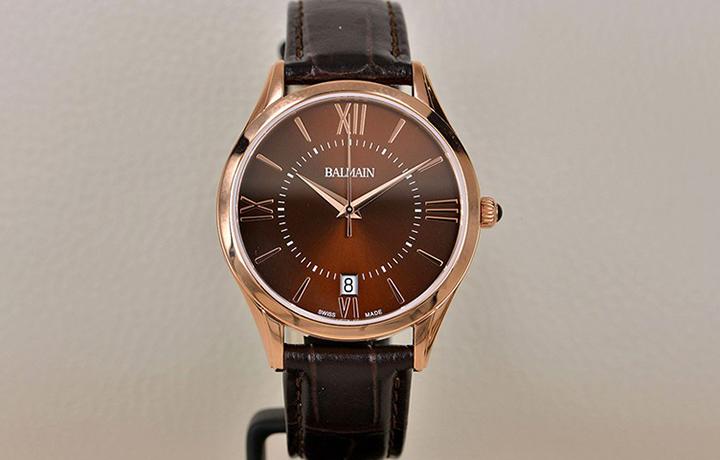 简约的线条 宝曼Classic R Grande系列腕表实拍