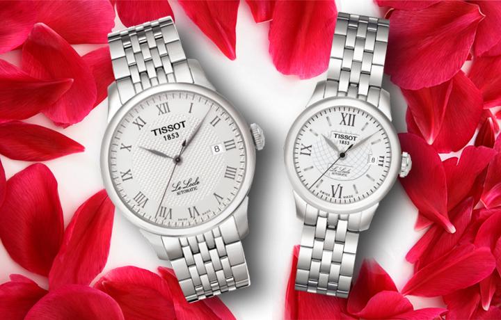 天梭情侣手表 用时间记录爱