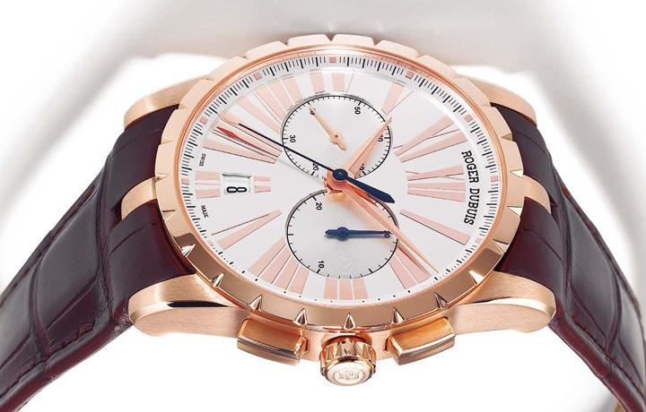 罗杰杜彼Roger Dubuis Excalibur 42 Chronographe 独一无二的计时机芯