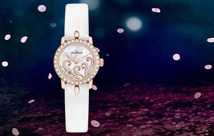 超薄机芯成就典雅 宝珀女装系列Ladybird腕表