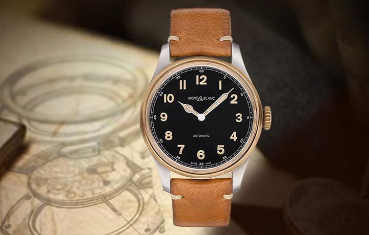 复古魅力 品鉴万宝龙1858系列青铜腕表