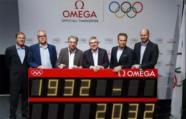 盛时速报 | 欧米茄与奥运会合作关系将延长至2032年