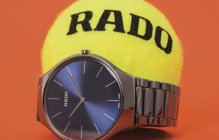 轻盈灵动 RADO瑞士雷达表以True Thinline真薄系列腕表致敬网球运动 卓著风格挥洒赛场内外