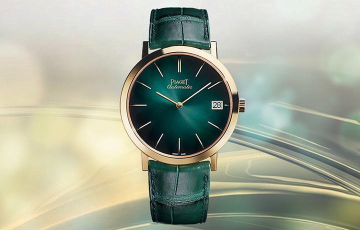 点亮生活的色彩 品鉴伯爵ALTIPLANO系列松绿盘腕表
