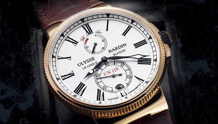 ULYSSE NARDIN Marine Chronometer Manufacture 独创航海天文台腕表 基础机芯的代表之作