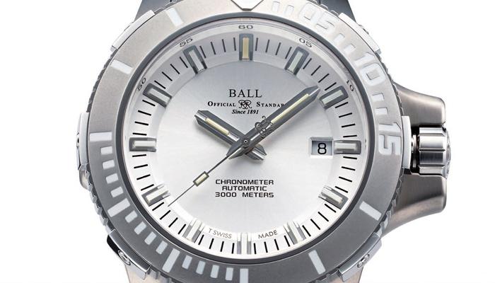 波尔表BALL WATCH Engineer Hydrocarbon DeepQUEST潜水表