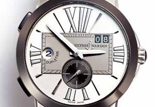 雅典ULYSSE NARDIN 经理人双时区腕表