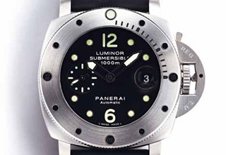 沛纳海PANERAI Luminor Submersible 1950 1000M 44mm腕表