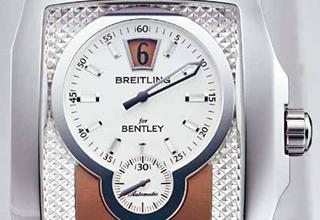 百年灵BREITLING Bentley Flying B Jump Hour 乘着金色的翅膀