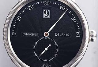 CHRONOSWISS Delphis Automatic铁血俾斯麦也动容