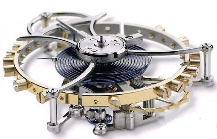 腕表的调速机构