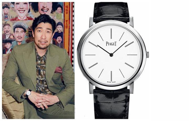 2017热门款腕表,看男明星怎么选择?