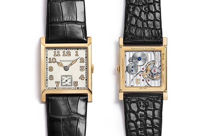 Tiffany&Co. 蒂芙尼首款限量方形腕表