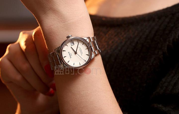 天梭 Tissot 经典系列 T086.208.11.261.00 机械女表圣诞特价4380元!