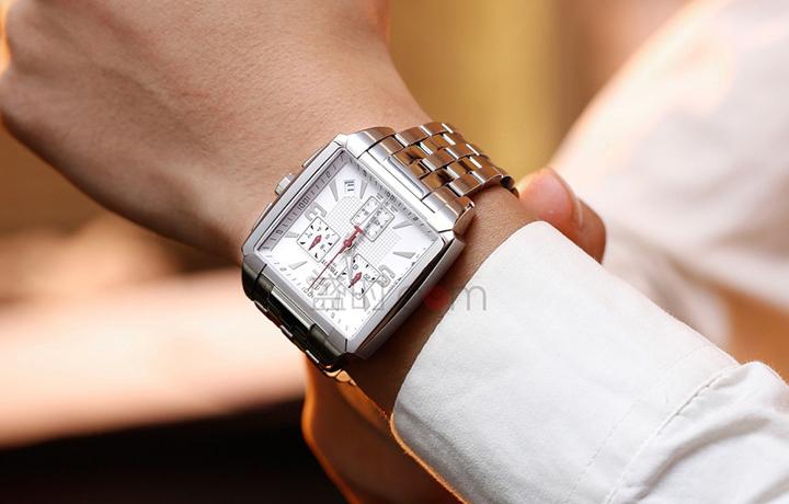 天梭 Tissot 时尚系列 T005.517.11.277.00 石英 男款圣诞特价2760元!