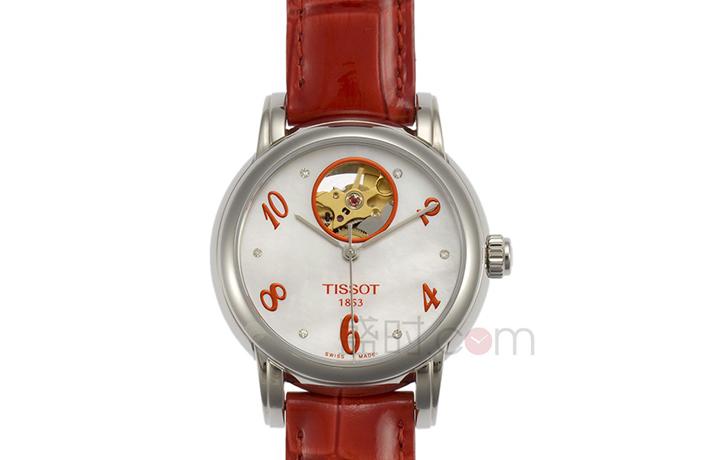 天梭 Tissot 经典系列 T050.207.16.116.03 机械 女款元旦特惠3510元!